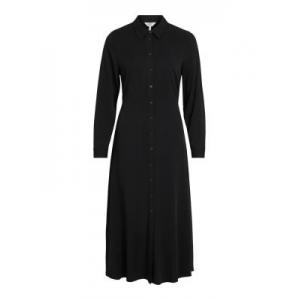OBJBAYA L-S LONG SHIRT DRESS N logo