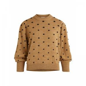 OBJLAURIE L-S KNIT PULLOVER 11 logo