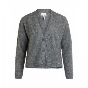OBJHOLLY L-S KNIT CARDIGAN 111 logo